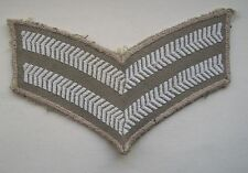 Original, British Army, Tropical Issue Corpral's Rank Patch.