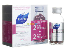 Phyto Phytophanere Hair & Nails Dietary Supplements 240 Caps (Four Month Supply)