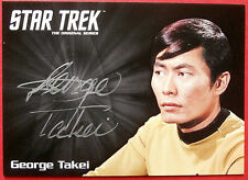 STAR TREK TOS 50th GEORGE TAKEI as Sulu, VERY LIMITED Autograph Card