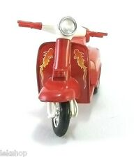 Red  VESPA SCOOTER Toy Model Car Vintage Collectible - Free Ship