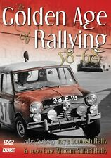 Golden Age of Rallying  1958 - 68 (New DVD) Scottish Rally 1973 Safari Rally 69