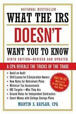 What the IRS Doesn't Want You to Know: A CPA Reveals the Tricks of the Trade, Ka