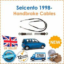 For Fiat Seicento 1998- Models Rear Handbrake Hand Brake Cables NEW