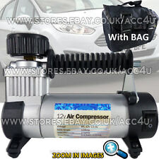 12v 100 PSI Hi Speed Car Van Tyre Air Compressor Inflator Electric Pump SWAC17