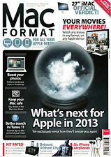 MAC FORMAT Magazine #257 February 2013 WHAT'S NEXT FOR APPLE IN 2013 @NEW@