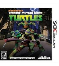 NEW Teenage Mutant Ninja Turtles  (Nintendo 3DS, 2013) NTSC