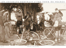BEER BICYCLE ART PRINT - TOUR DE FRANCE DRINKERS Presse E Sports Bike Bar Poster