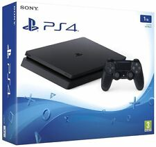 Sony PlayStation 4 Slim 1 to noir home console-jet black console