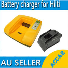 Battery Charger for Hilti 14.4V 22.2V 36V C4/36-ACS B22/2.6 B22/3.3 B36/3.9 AU