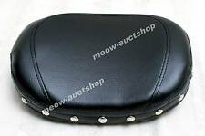 Vstar Dragstar XV XVS 250 400 650 950 1100 Chrome Stud Backrest Cushion Pad PD#m