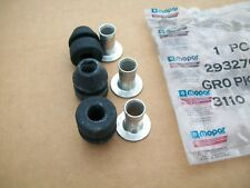 NOS MoPar 1968 - 1986 Plymouth Dodge 2 Speed Wiper Motor Mounting Bushings