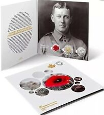 2015 Canada Remembrance Coin Set - Flanders Fields Toonie and Poppy Quarters