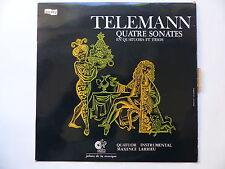 TELEMAN Quatre sonates Quatuor instrumental MAXENCE LARRIEU JM020