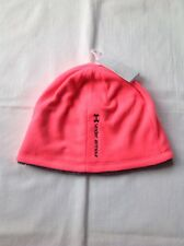 Womens Under Armour Breast Cancer Awareness Hat Cap Beanie Pink OSFA NWT