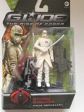 "G I-Joe Storm Shadow ""Ninja Mercenario"" Figura de Acción 3.75"""