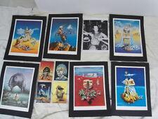 SIUDMAK Wojtek Né en Pologne en 1942 Lot de 11 pièces diverses de l'Artiste