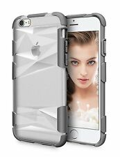 iPhone 6 / 6S Case Premium Hard PC Transparent Bumper LoHi Case 4.7 inch - Grey