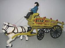 """schöne """"Bier-Kutsche""""- Pferdekutsche, aus Gusseisen, Nostalgie-Stil / 35x20x10cm"""
