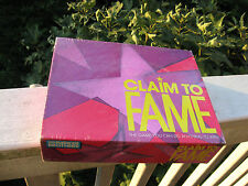 "CLAIM TO FAME Board Game - ""You Can Do Anything to Win""~ New & Sealed In Box!"