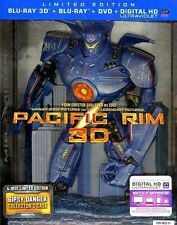 Pacific Rim (3d) (Le) (Bd/Dvd/ (2013) - Used - Blu-ray 3d