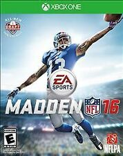 Madden NFL 16 (Microsoft Xbox One, 2015) Brand New Factory Sealed Disc Free Ship