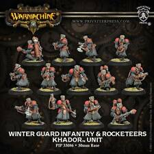 Warmachine BNIB-khador winterguard infanterie & attache plastique (13)