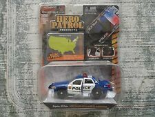 HERO PATROL POLICE KINGSTONE NY FORD CROWN VICTORIA POLICE INTERCEPTOR  1:64