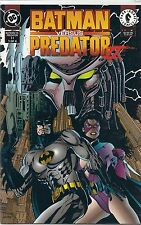"""DC COMICS """"BATMAN VERSUS PREDATOR II  DARK HORSE COMICS 1 OF 4  BOB KANE WARNER"""