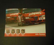 ALFA ROMEO 2004 etcc Racing Team-PROMOZIONALE PHOTOCARD