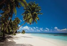 MALDIVES BEACH ISLAND NATURE Wallpaper Wall Mural - Made in Germany! 388x270cm