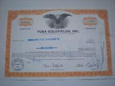 USA  -  Yuba Goldfields  Inc.  10/705