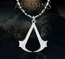 Assassins Creed Ezio Stainless Steel Pendant Necklace Fashion Assasins For Gifts
