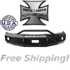 Iron Cross HD Front Bumper With Push Bar 2009-2014 Ford F-150 (fits Ecoboost)