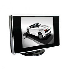 New 3.5 Inch TFT LCD Color Screen AV input Car Rearview Monitor DVD VCR
