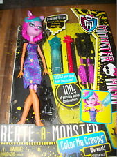 Monster High Create a Monster Werewolf  New