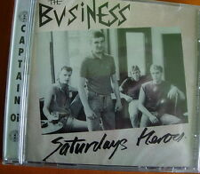 The Business Saturdays Heroes CD+Bonus Tracks NEW SEALED Punk Oi! Hurry Up Harry