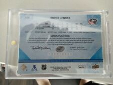 Boone Jenner Ice Premieres auto autograph patch UD #06/10