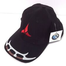 Star Trek KLINGON Logo DELUXE Embroidered Fabric Cap/Hat- Adjustable (HAT004)