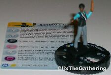 AMANDA WALLER #034 The Flash DC HeroClix Rare