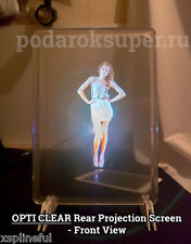 21*30CM A4 Size Holographic Rear Projection Portable Screen PodarokSuper