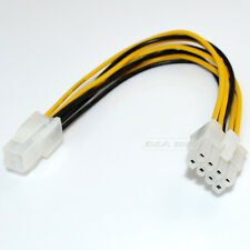 ATX 4 PIN TO 8 PIN POWER SUPPLY ADAPTER CABLE COMPUTER PC DIY