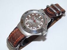 VOSTOK Russian military Amphibian.The genuine leather strap.watch VA 060448