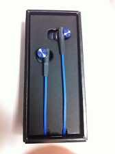Sony MDR-XB50AP - Headphones Earbuds MDRXB50AP Extra Bass - BLUE - EXCELLENT