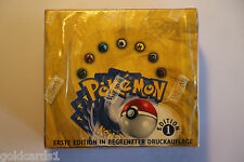 Pokémon Basis Base Set Display Booster Box - Limited 1. Edition - Deutsch sealed