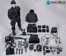 DRAGON IN DREAMS DID 1/6 MODERN BRITISH SEAN SAS B SQUADRON BLACK OPS TEAM