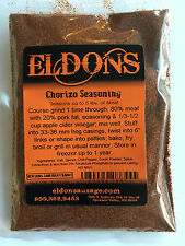 Chorizo Sausage Seasoning Spices with Cure Seasons 5 Pounds of Meat #8855A