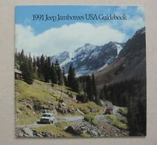 1991 Jeep Jamborees USA Guidebook -Near Mint to Mint