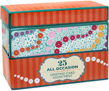 Paper Magic Box of 25 Assorted All Occasion Embellished Greeting Cards