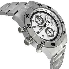 New Mens Invicta 11274 Specialty Chronograph Textured Dial Stainless Steel Watch