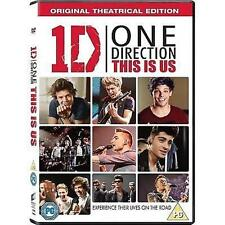 ONE DIRECTION 1D THIS IS US THEATRICAL EDITION SONY UK 2013 DVD & UV NEW SEALED